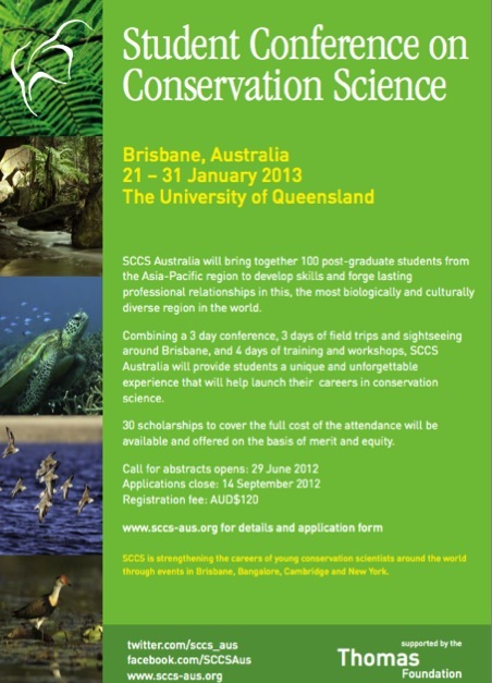 Student Conference on Conservation Science