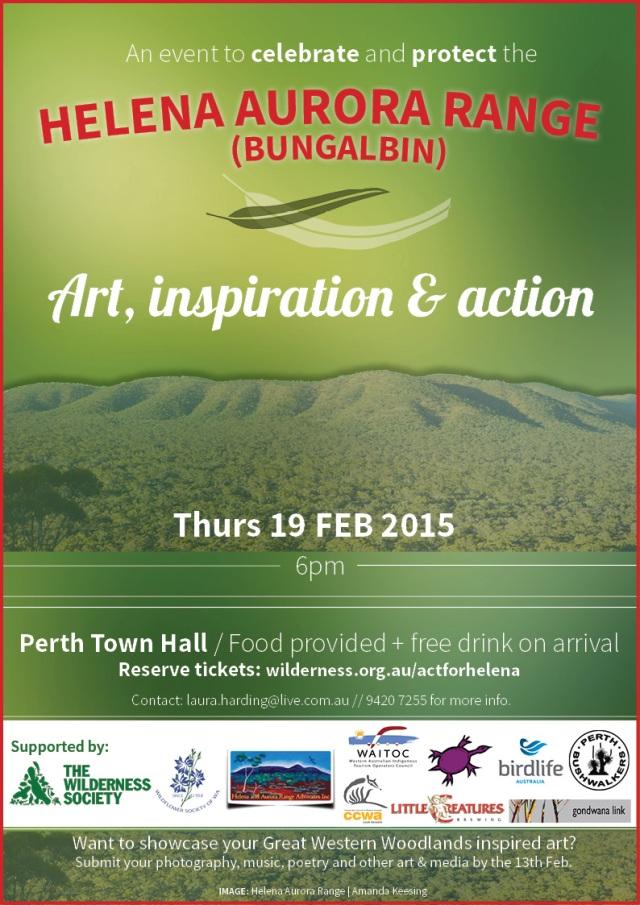 2015 Bungalbin event poster