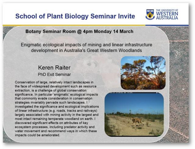Keren Raiter PhD completion seminar